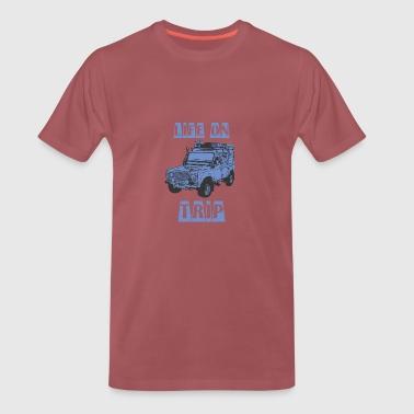 LEBEN AUF TRIP - Männer Premium T-Shirt
