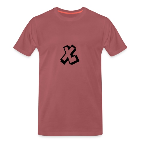 EXTRALARS MUISMAT VERTICAAL - Mannen Premium T-shirt