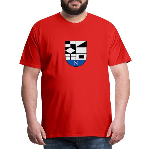652px Coat of arms of Neringa Lithuania svg - Männer Premium T-Shirt