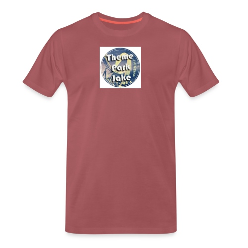 THEME PARK JAKE LOGO - Men's Premium T-Shirt