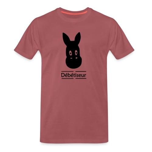 L'âne et les lettres - T-shirt Premium Homme
