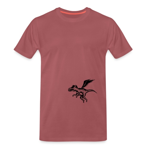 Vliegende draak - Mannen Premium T-shirt