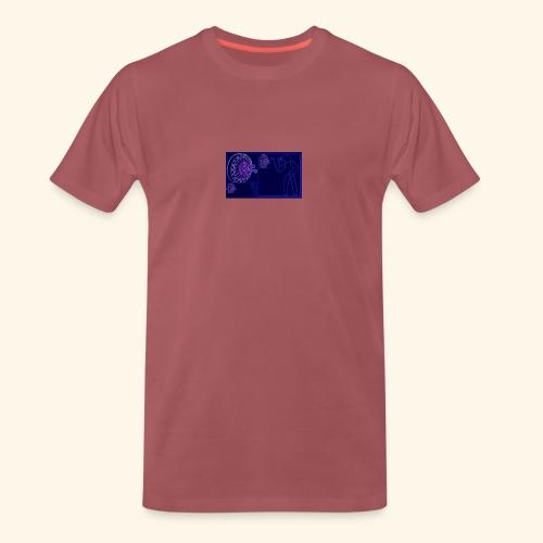 Dartblack BL b1 - Männer Premium T-Shirt