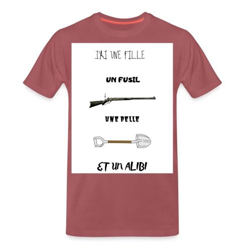T-shirt imprimé J'ai une fille - T-shirt Premium Homme