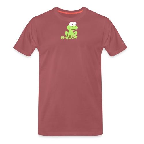 Frosch (c2) - Frog - Männer Premium T-Shirt