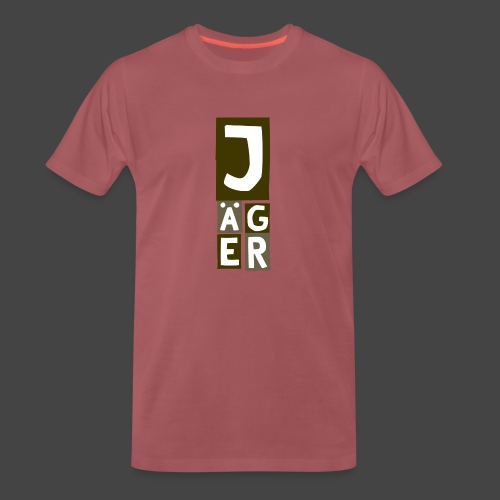 Der Jägerturm - original Jägershirt - Männer Premium T-Shirt