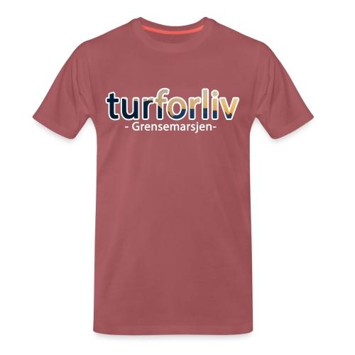 Grensemarsjen - Premium T-skjorte for menn
