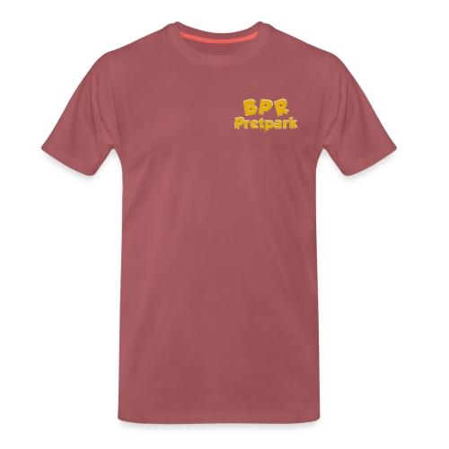 BPR Pretpark borstlogo - Mannen Premium T-shirt