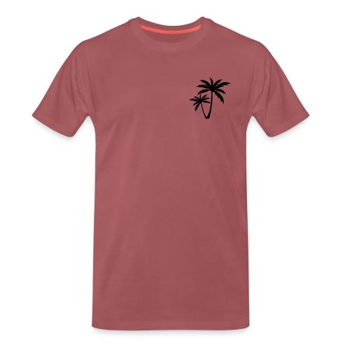 Palm Tree - Miesten premium t-paita