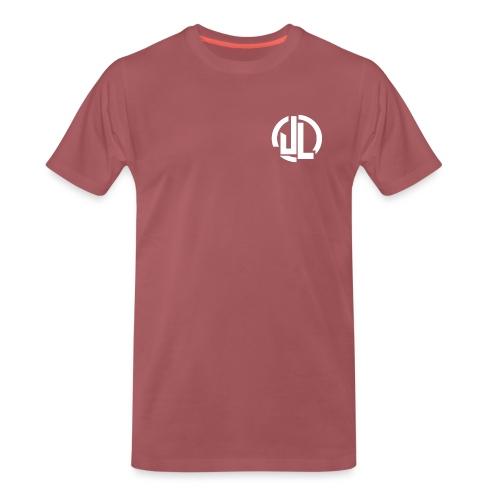 The White JL Logo - Men's Premium T-Shirt