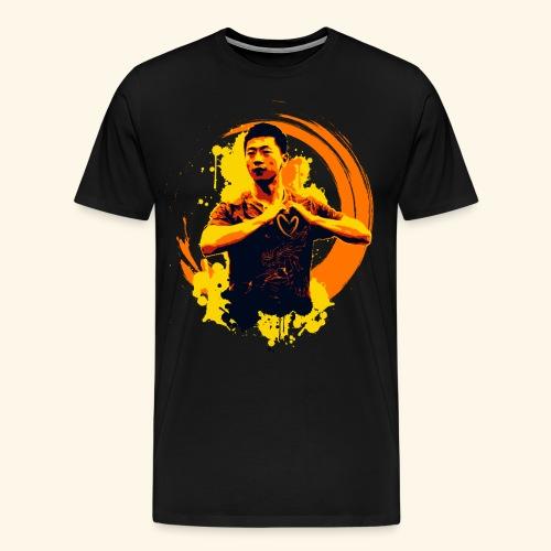 I heart table tennis championship - Männer Premium T-Shirt