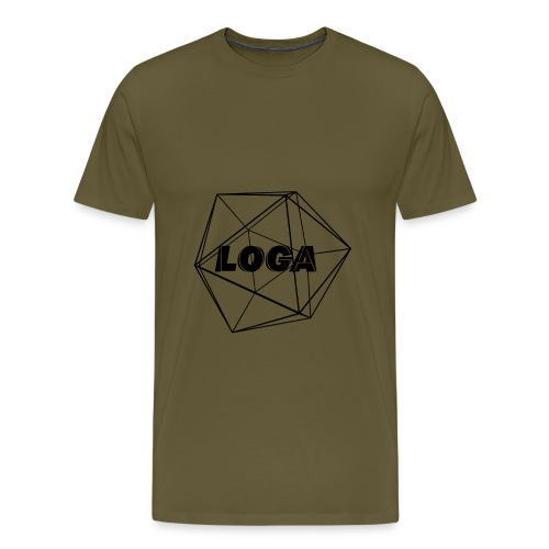 fertig schwarz - Männer Premium T-Shirt