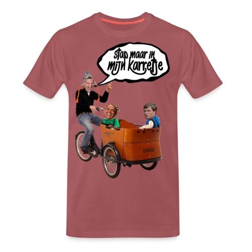 Stap maar in mijn Karretje Shirt png - Mannen Premium T-shirt