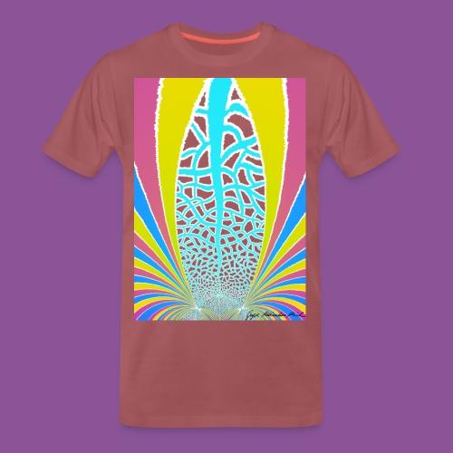 Karo mit Adern 27 1 - Männer Premium T-Shirt
