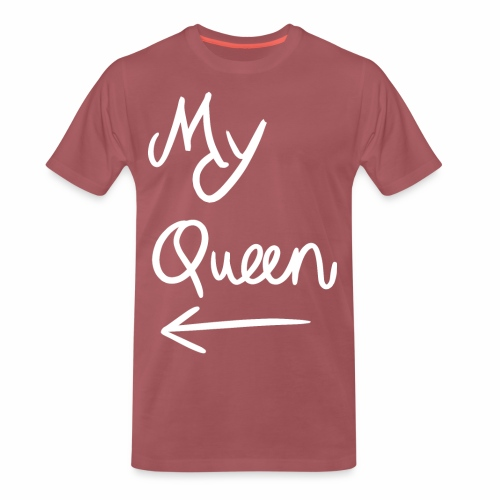My Queen - Mannen Premium T-shirt