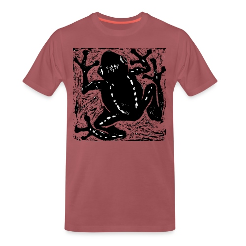 Museum Tree Frog - Men's Premium T-Shirt