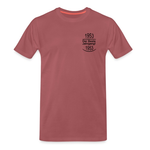 besterjahrgang 1953 - Männer Premium T-Shirt