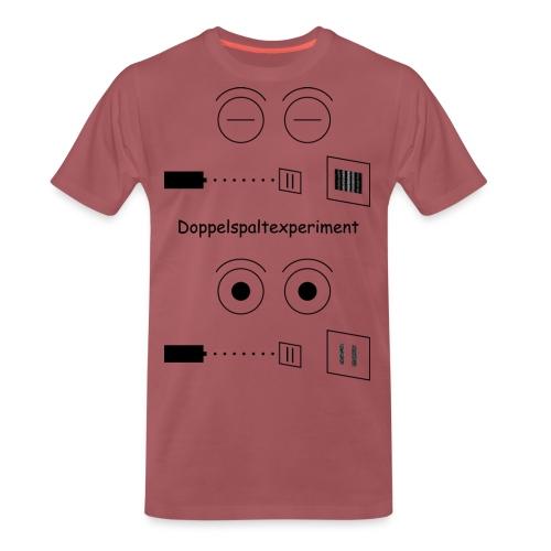 Doppelspalt-Experiment - Männer Premium T-Shirt