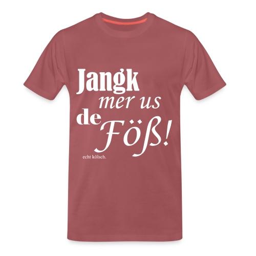 Jang mer us de Föß! - Männer Premium T-Shirt