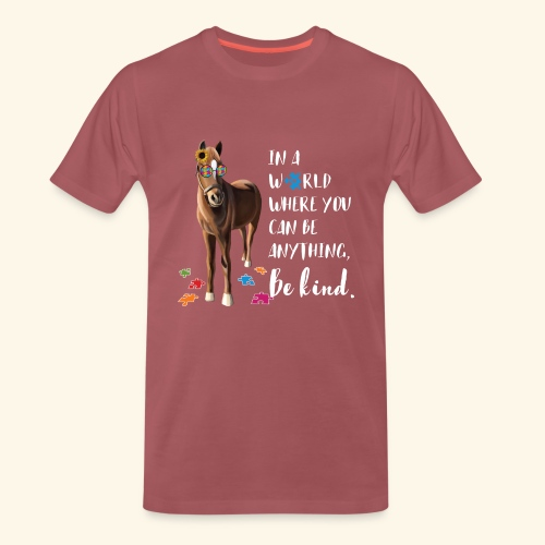 In A World Where You Can Be Anything Be Kind ADHS - Männer Premium T-Shirt