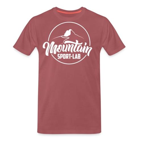 BLANC MOUNTAINSPORTLABgrand - T-shirt Premium Homme