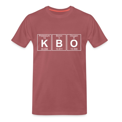 K-B-O (kbo) - Full - Men's Premium T-Shirt