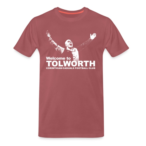 Welcome to Tolworth - Corinthian-Casuals - Men's Premium T-Shirt