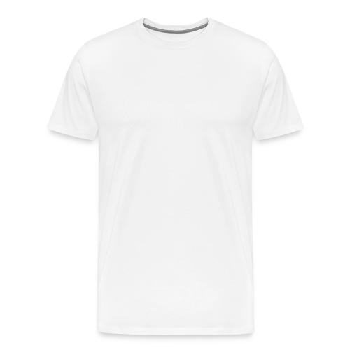 Muffens Media hvit logo - Men's Premium T-Shirt