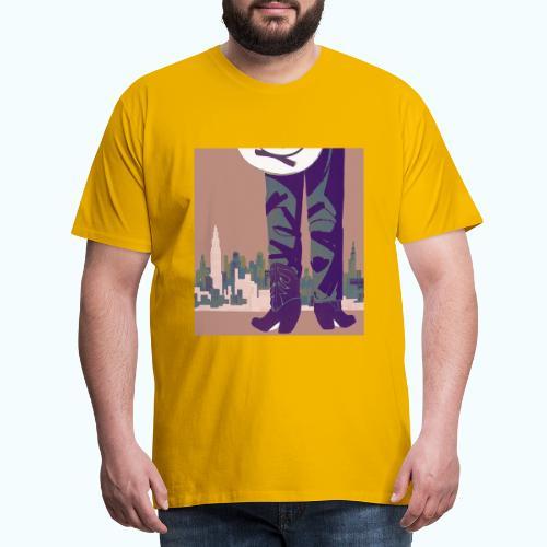Texas vintage travel poster - Men's Premium T-Shirt