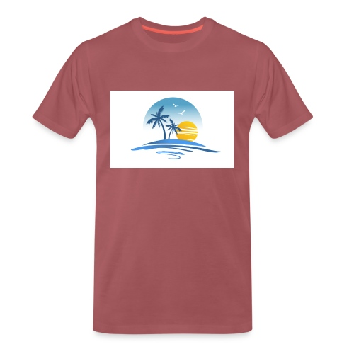 Summer Island - T-shirt Premium Homme