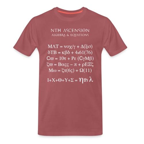 DTB nth Equations - Men's Premium T-Shirt