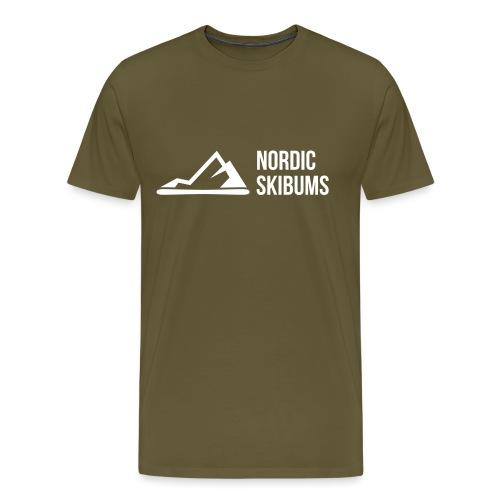 Nordic skibums partner - Men's Premium T-Shirt