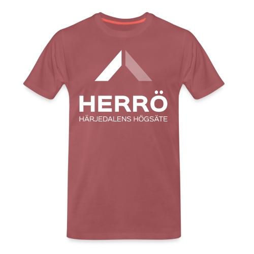 Herrö - Härjedalens Högsäte - Premium-T-shirt herr