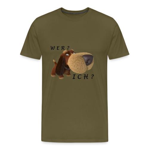 Wer? Ich? - Männer Premium T-Shirt