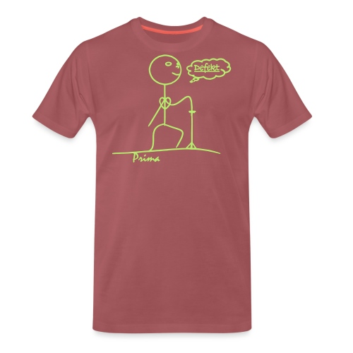 verfallen und alt Prima - Männer Premium T-Shirt