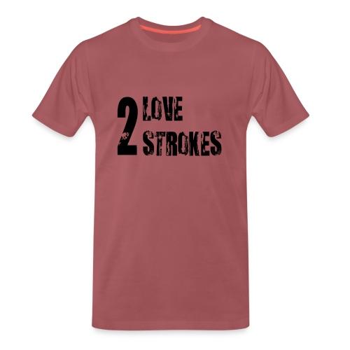Love 2 Strokes - Maglietta Premium da uomo