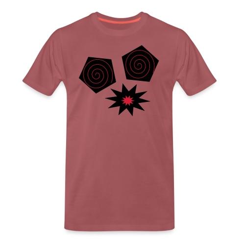 design yeux monstrueux - T-shirt Premium Homme
