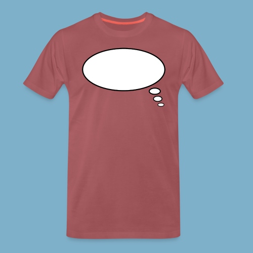 Denkblase - Männer Premium T-Shirt