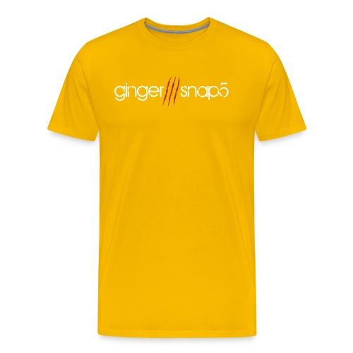GS5 logo name - Men's Premium T-Shirt