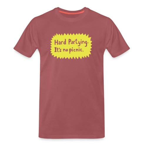 Hard Partying - Men's Premium T-Shirt