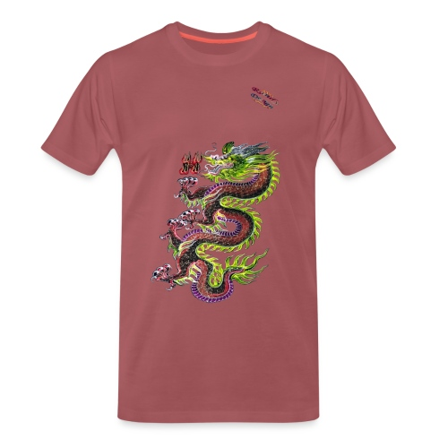 Dragon Randy Design - Männer Premium T-Shirt