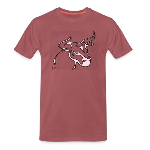prm design taureau 2 - T-shirt Premium Homme