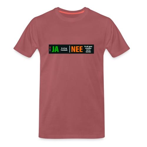 facebookvrienden - Mannen Premium T-shirt