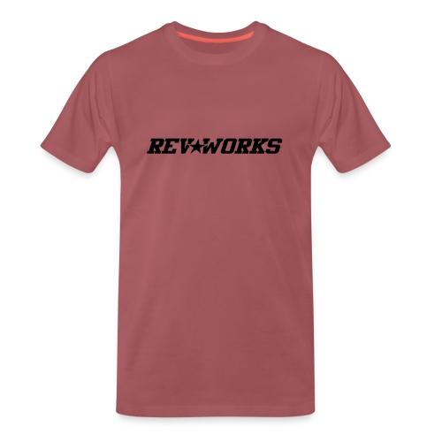 RevWorks liggend - Men's Premium T-Shirt