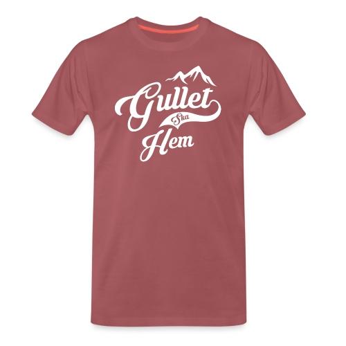 Gullet Ska Hem - Premium T-skjorte for menn