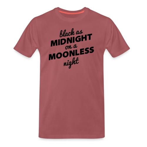 BLACK AS MIDNIGHT - Men's Premium T-Shirt