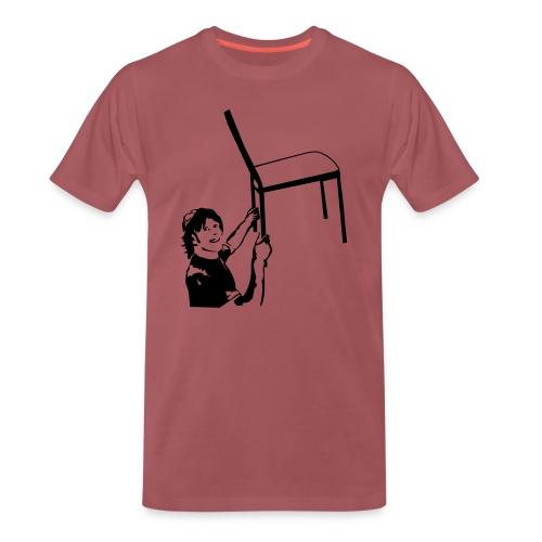 Stuhltanz - Schatzi schenk mir ein Foto - Männer Premium T-Shirt