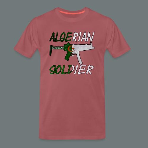 Algerian Soldier Trui (Heren) - Mannen Premium T-shirt