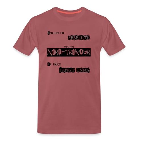 Perfekt nordtrønder - Premium T-skjorte for menn
