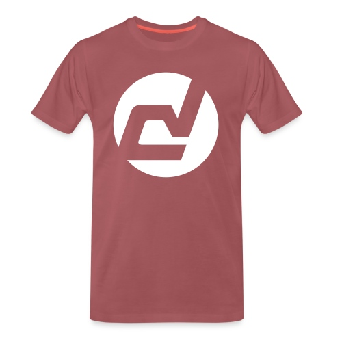 logo blanc - T-shirt Premium Homme